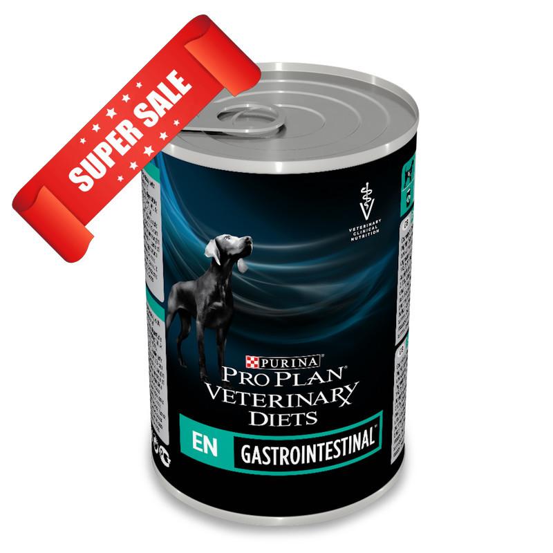 Лечебный влажный корм для собак Purina Pro Plan Veterinary Diets EN Gastrointestinal 400 г
