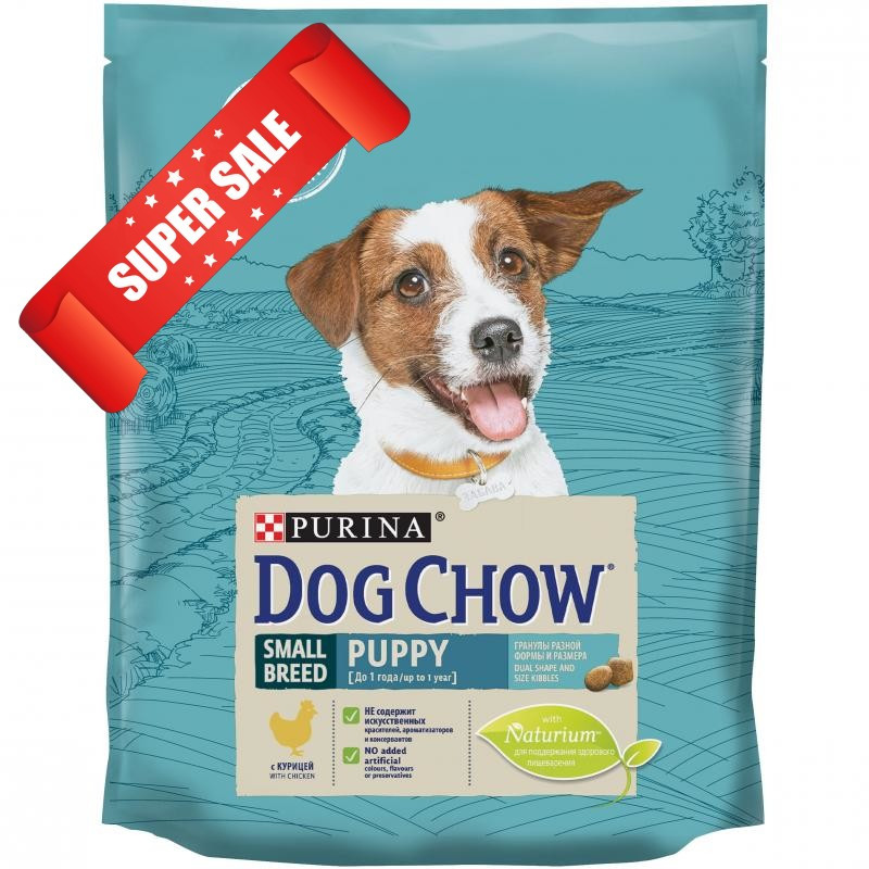 Сухой корм для собак Purina Dog Chow Puppy Small Breed Chicken 7,5 кг