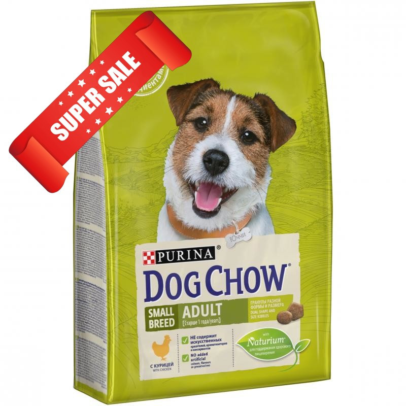 Сухой корм для собак Purina Dog Chow Adult Small Breed Chicken 2,5 кг