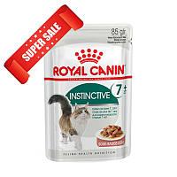 Влажный корм для котов Royal Canin Instinctive 7+ Sauce 85 г