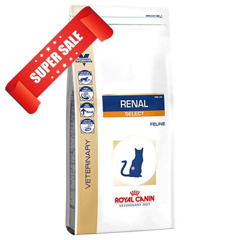 Лечебный сухой корм для котов Royal Canin Renal Select Feline 4 кг