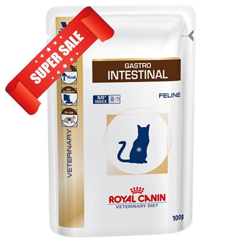 Лечебный влажный корм для котов Royal Canin Gastro Intestinal Feline 100 г
