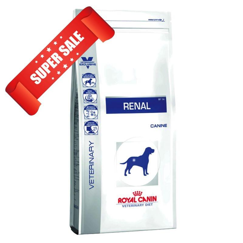 Лечебный сухой корм для собак Royal Canin Renal Canine 2 кг