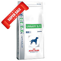 Лечебный сухой корм для собак Royal Canin Urinary S/O Canine 14 кг