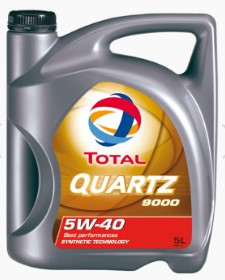 Моторное масло TOTAL QUARTZ 9000 5W-40 5Л  (TL 173574)