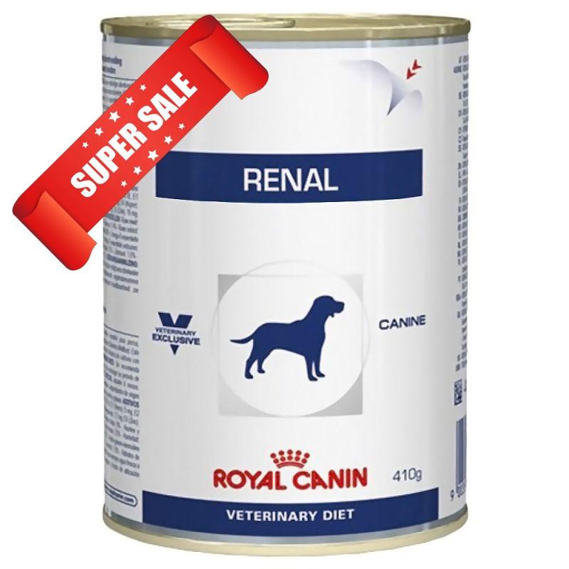 Лечебный влажный корм для собак Royal Canin Renal Canine 410 г