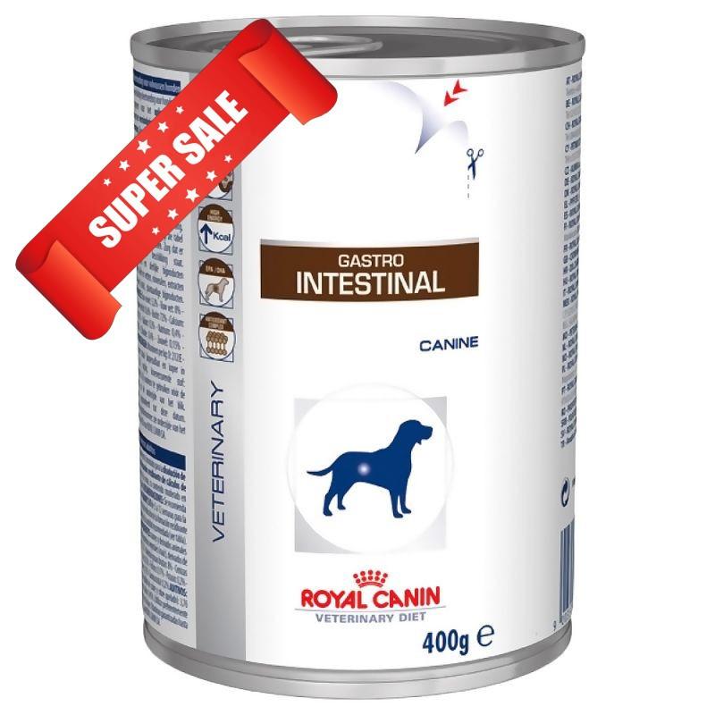 Лечебный влажный корм для собак Royal Canin Gastro Intestinal Canine 400 г