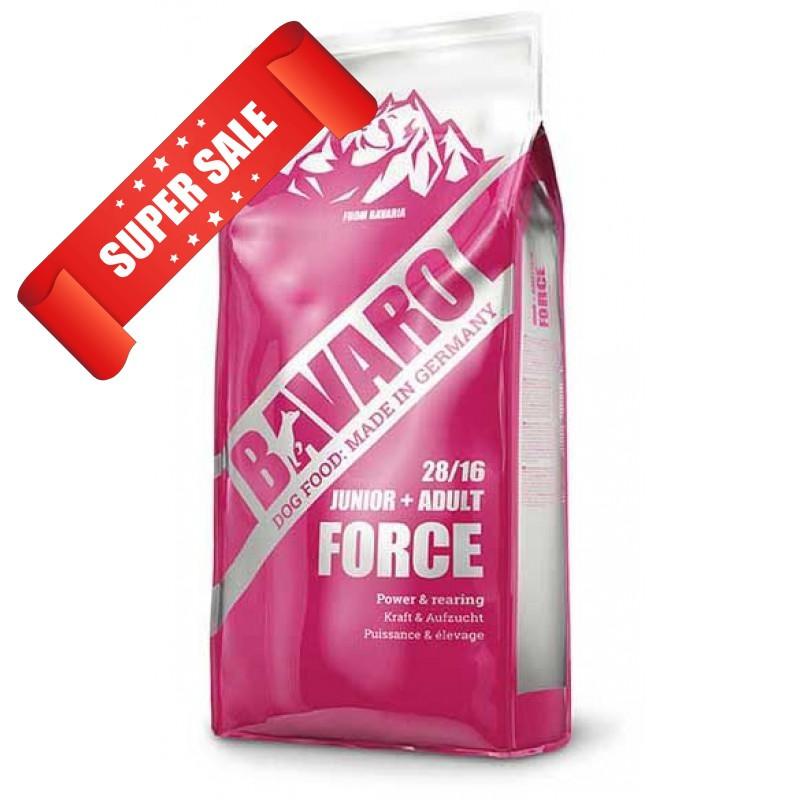 Сухий корм для собак Bavaro Force Junior + Adult 28/16 18 кг