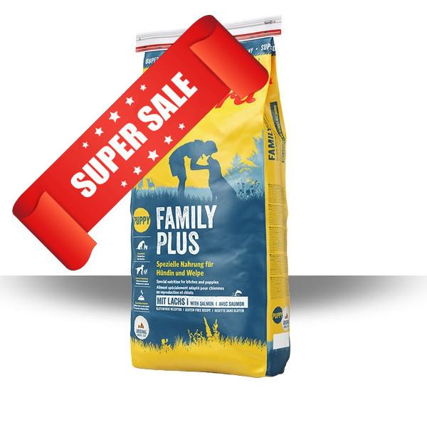 Сухой корм для собак Josera Family Plus 15 кг