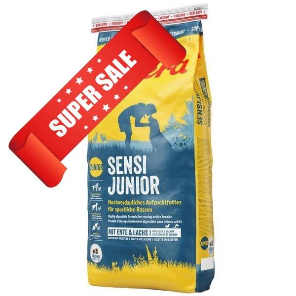 Сухой корм для собак Josera Sensi Junior 15 кг