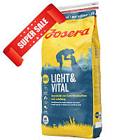 Сухой корм для собак Josera Light & Vital 900 г