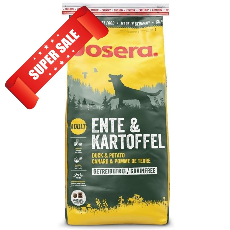 Сухой корм для собак Josera Ente & Kartoffel 900 г