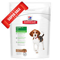 Сухой корм для собак Hill's Science Plan Canine Puppy Healthy Development Medium Lamb & Rice 3 кг