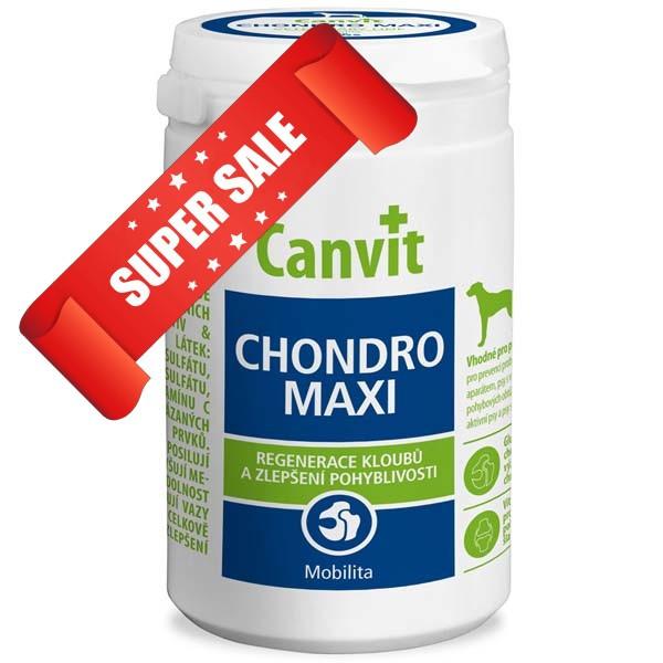 Витамины для собак Canvit Chondro Maxi 230 г