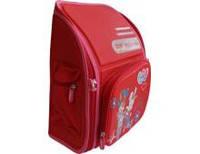 Ранець-короб ортопедичний BS005, Happy Day, 33*29*13см, червоний, Dr.Kong 973498