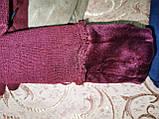 Детские замш перчатки на манжете подростковые (от 3-х до 15лет)стильные только оптом, фото 3