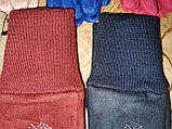 Детские замш перчатки на манжете подростковые (от 3-х до 15лет)стильные только оптом, фото 4