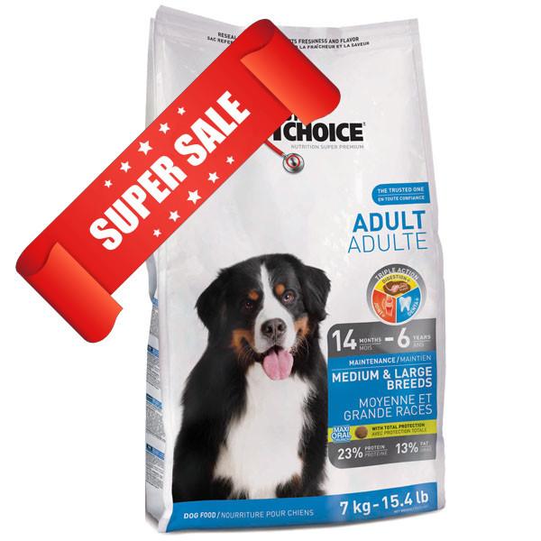 Сухой корм для собак 1st Choice Medium & Large Breeds Adult 15 кг