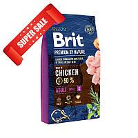 Сухой корм для собак Brit Premium Adult S Chicken 1 кг