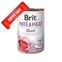 Влажный корм для собак Brit Pate & Meat Lamb 400 г