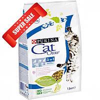 Сухой корм для котов Purina Cat Chow 3 in 1 1,5 кг