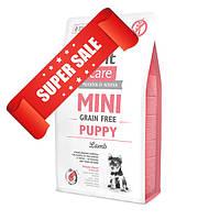 Сухой корм для собак Brit Care Grain-free Mini Puppy Lamb 7 кг