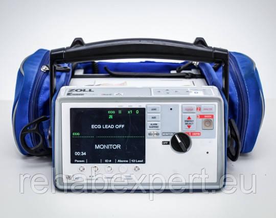 Ударопрочный дефибриллятор для скорой помощи Zoll E Series 4-Lead ECG Defibrilator (4 отвода)