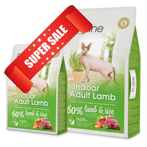 Сухой корм для котов Profine Cat Indoor Adult Lamb 0,3 кг