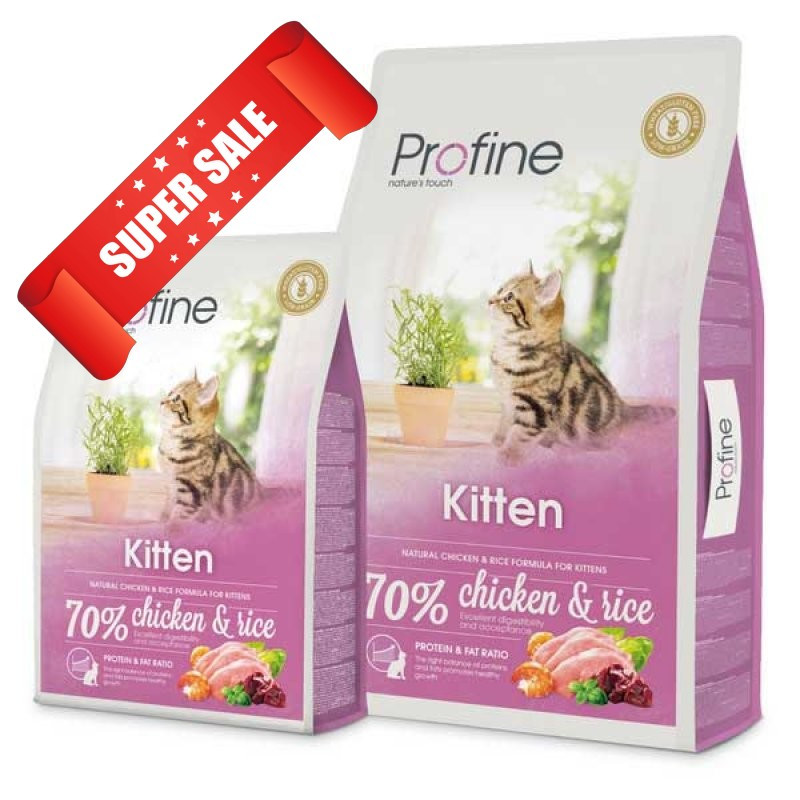 Сухой корм для котов Profine Cat Kitten 0,3 кг