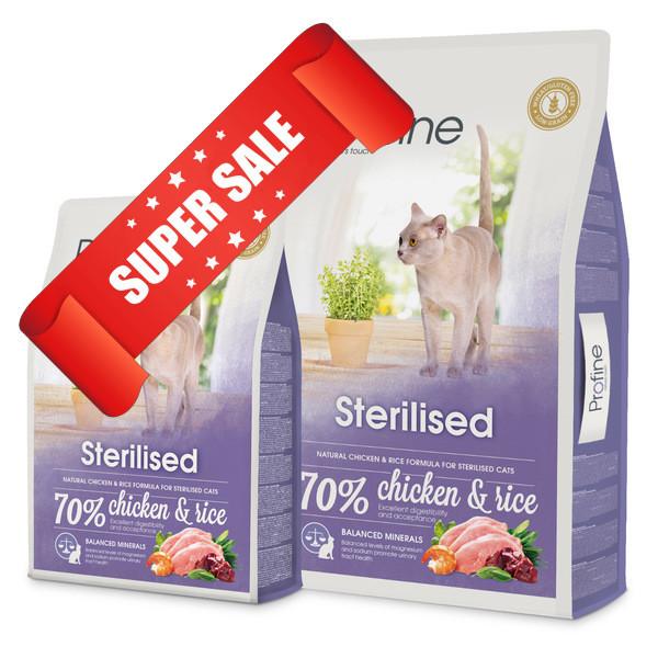 Сухой корм для котов Profine Cat Sterilised 0.3 кг