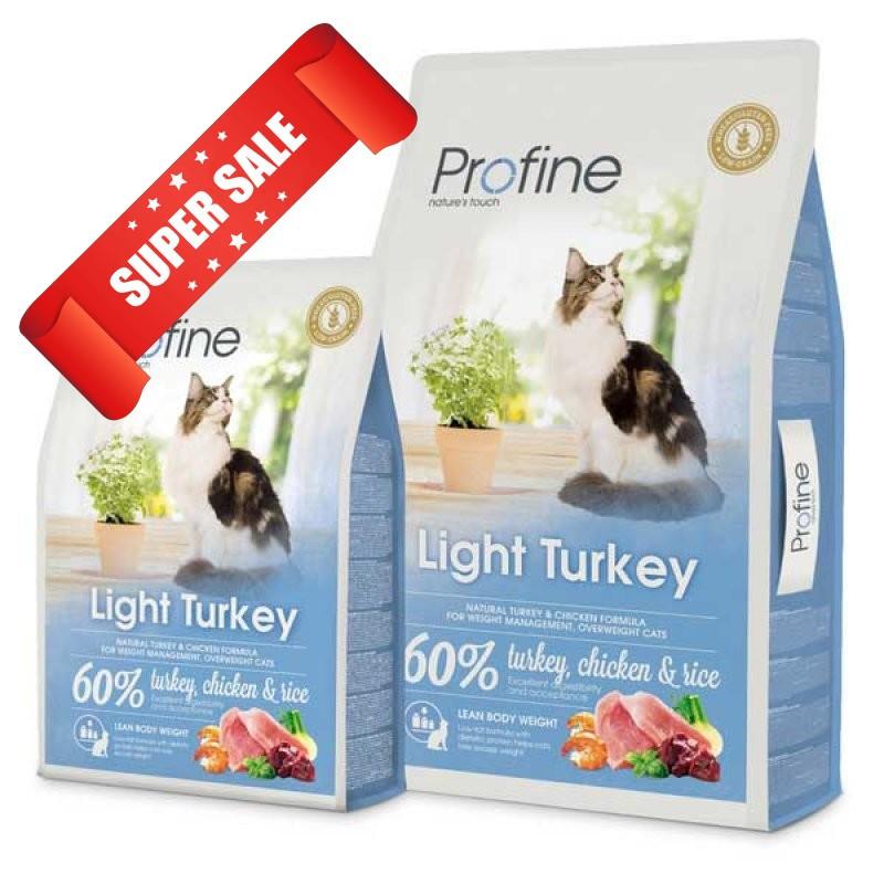 Сухой корм для котов Profine Cat Light Turkey 10 кг