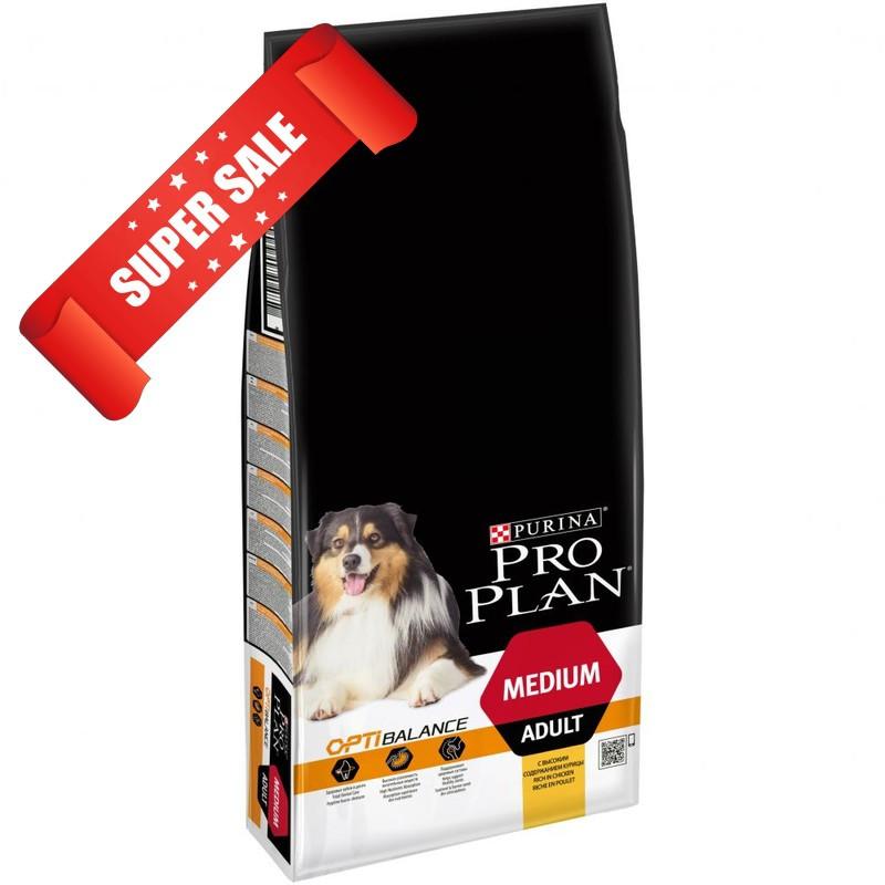 Сухой корм для собак Purina Pro Plan Medium Adult 14 кг