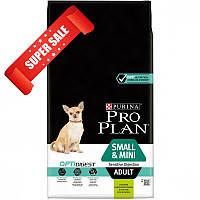 Сухой корм для собак Purina Pro Plan Small & Mini Adult Sensitive Digestion 3 кг
