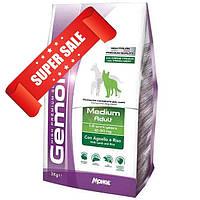 Сухой корм для собак Gemon Medium Adult Lamb & Rice 3 кг