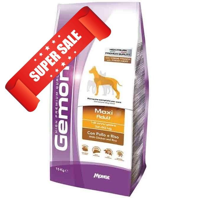 Сухой корм для собак Gemon Maxi Adult Chicken & Rice 15 кг