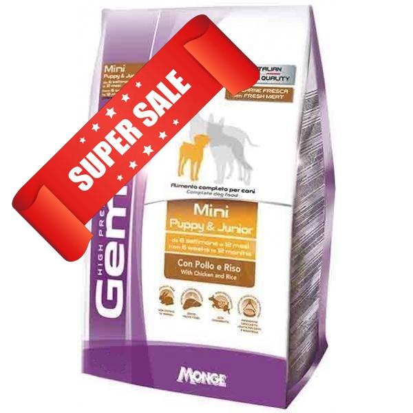 Сухой корм для собак Gemon Puppy & Junior Chicken & Rice 20 кг