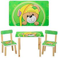 Детский столик 501-14  деревянный, Pontik