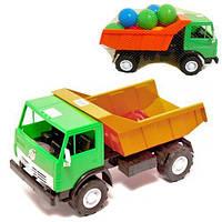"""Машинка пластиковая """"Самосвал"""" с шариками 471 в.2"""
