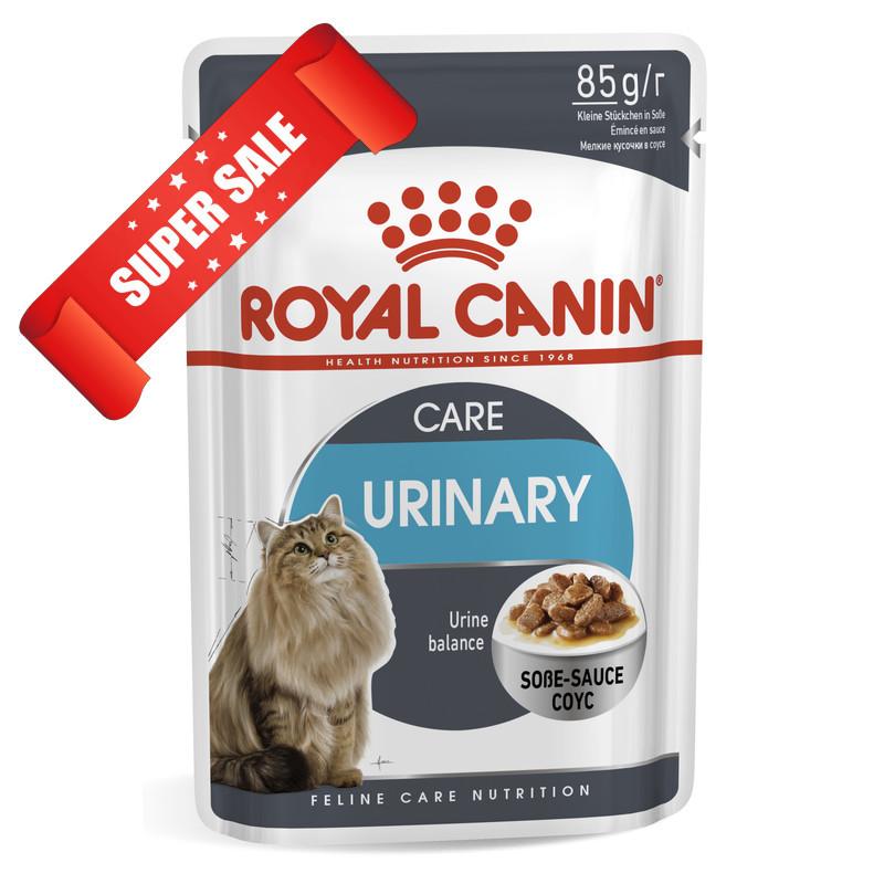 Лечебный влажный корм для котов Royal Canin Urinary Care 85 г