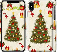 "Чехол на iPhone XS Max Новогодняя елка ""4198c-1557-24614"""