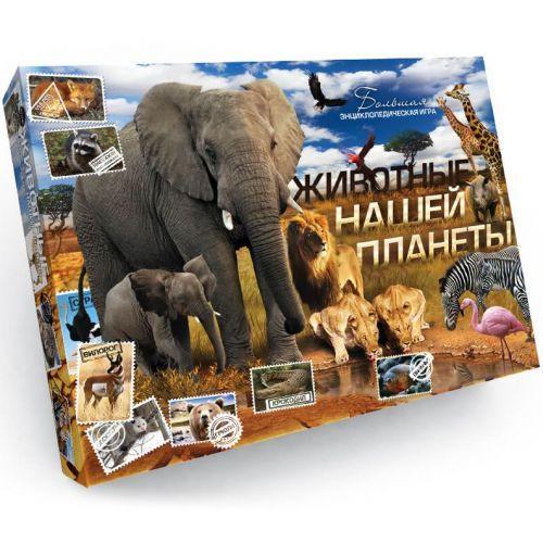 """Настольная игра-викторина """"Животные нашей планеты"""" DT G29"""