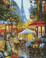 """Алмазная вышивка. """"Краски Парижа"""" 40*50см AM6026"""