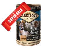 Влажный корм для собак Carnilove Salmon & Turkey 400 г