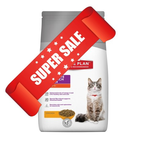 Сухой корм для котов Hill's Science Plan Feline Adult Sensitive Stomach & Skin Chicken 0,4 кг