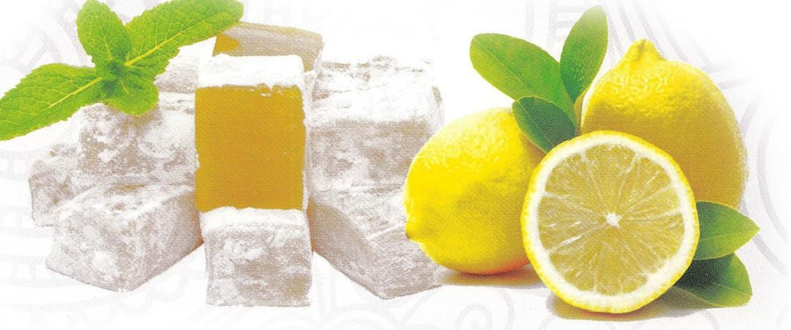 Рахат лукум Лимонный 1 кг