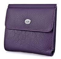 Женский кожаный кошелек ST складной, фото 1