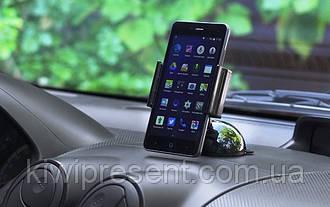 Автомобильный держатель крепление присоска для мобильного телефона
