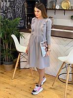 Платье / костюмная ткань / Украина 33-1012, фото 1