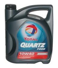 Моторное масло  TOTAL QUARTZ DIESEL 7000 10W-40 4л (TL 203710)