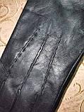 Кожа натуральная с шерсти сетка мужские перчатки только оптом, фото 2
